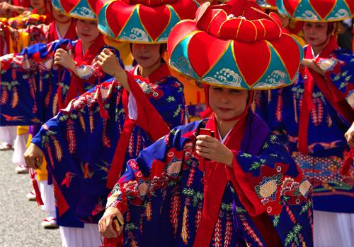文化 伝統衣装の「琉装」を体験する!!